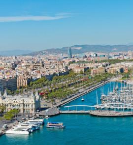 barcelone place de port
